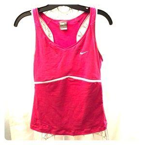 Nike tennis shirt-medium pink